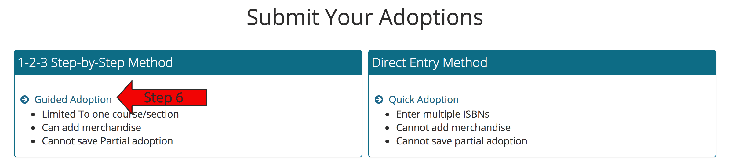 Guided Adoption