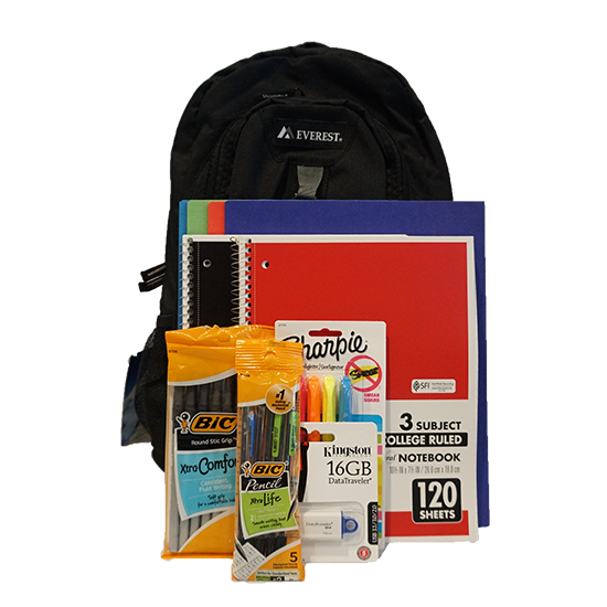 Cover Image For PREMIUM SCHOOL SUPPLY KIT - Financial Aid Eligible Item