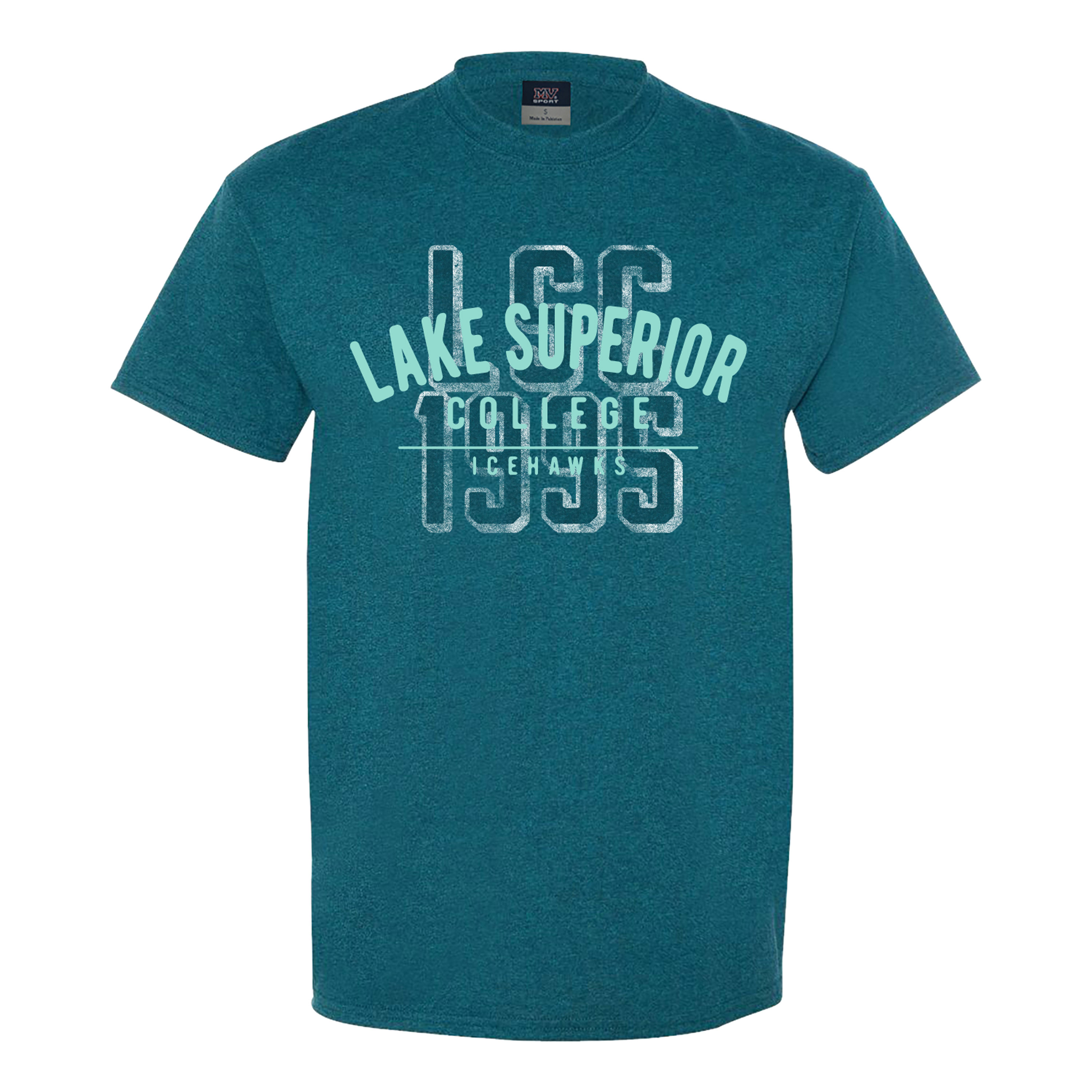 Image For RETRO TEAL T-SHIRT