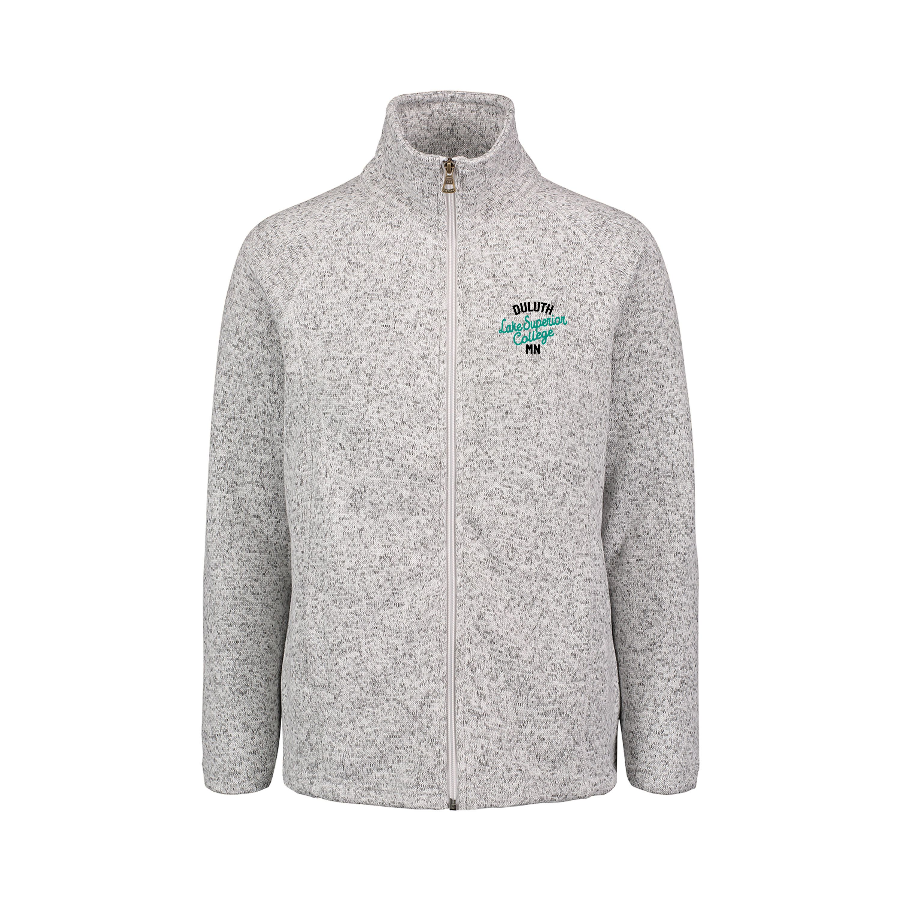 Image For HEATHERED LSC FULL ZIP